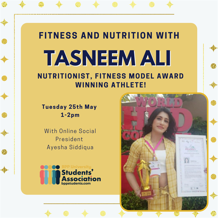 Fitness and Nutrition with Tasneem Ali
