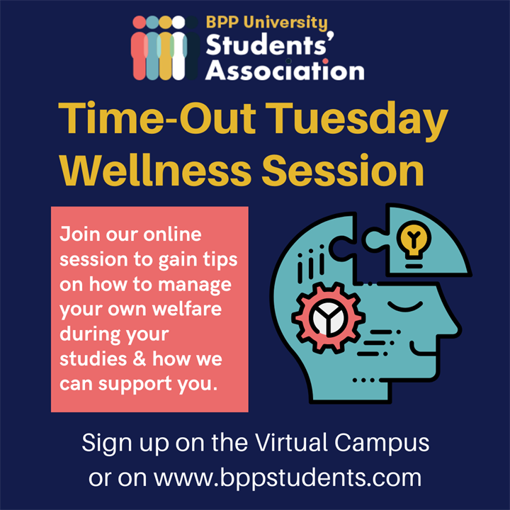 Time-Out Tuesdays Wellness Sessions