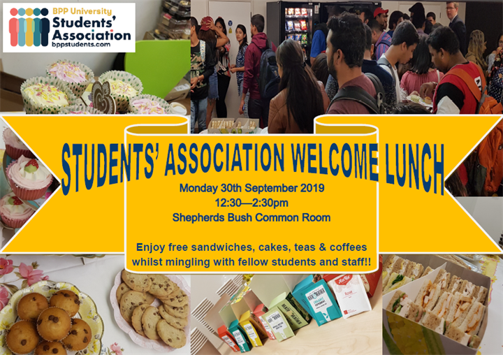 Students' Association Welcome Lunch